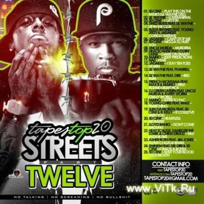 Lil Wayne, 50 Cent, Eminem Presents: Tapes Top 20 Streets, Part 12-2009