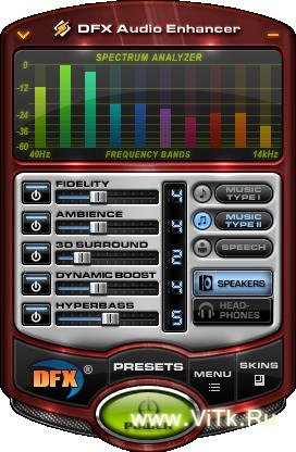 DFX Audio Enhancer 9.107