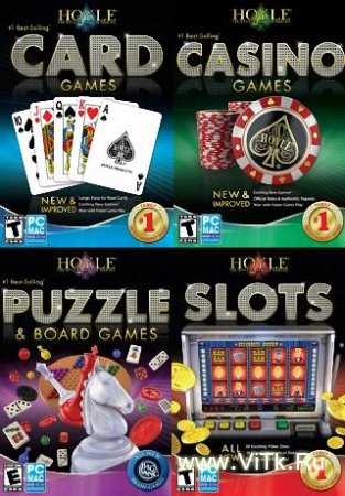 Hoyle Games 4 in 1 (Repack 2.69 Gb/ENG/2009)