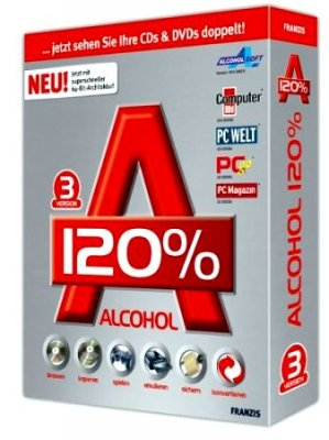 Alcohol 120% 1.9.8.9723 Silent Install (2009) RUS