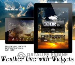 Weather Live with Widgets Full v4.5 build 109 (Android)