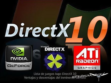 DirectX 10 NCT для Windows XP всех версий