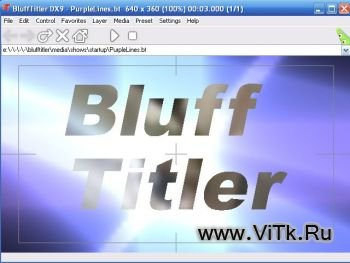 BluffTitler DX9 v7.6.1 Rus