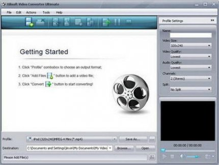 Xilisoft Video Converter Ultimate 6.0.7 build 0707 Portable