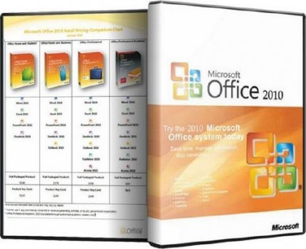 Microsoft Office 2010 х86 Retail Eng original (2010)